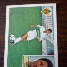 Cromos de Fútbol: CROMO EDICIONES ESTE LIGA 84/85 - 1984 / 1985 ANQUELA ELCHE SIN PEGAR. Lote 54009938