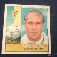 Cromos de Fútbol: 92-93 ESTE. COLOCA CADIZ JOSE LUIS ROMERO. Lote 54016596