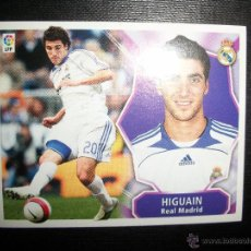 Cromos de Fútbol: HIGUAIN DEL REAL MADRID ALBUM ESTE LIGA 2008 - 2009 ( 08 - 09 ). Lote 183398431