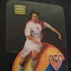 Cromos de Fútbol: 544 SERGIO RAMOS - SEVILLA - REVELACION - LAMINCARDS DANET MUNDICROMO MC FICHAS LIGA 2005 2006 05 06. Lote 263191165