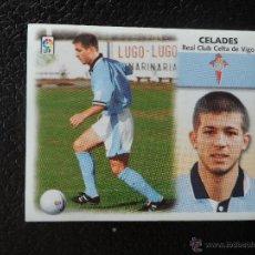 Cromos de Fútbol: CELADES CELTA DE VIGO ULTIMOS FICHAJES FICHAJE Nº 33 ALBUM ESTE LIGA 1999 - 2000 ( 99 - 00 ). Lote 119534570