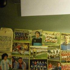 Cromos de Fútbol: 16 CROMOS FUTBOL EN ACCIÓN, DE DANONE, 1982. Lote 54306391