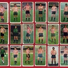 Cromos de Fútbol: LOTE 18 CROMOS FUTBOL, LIGA 77 78, 1977 1978 , BILBAO , ESTE , NUNCA PEGADOS, ORIGINALES, C15. Lote 54327819