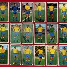 Cromos de Fútbol: LOTE 18 CROMOS FUTBOL, LIGA 77 78, 1977 1978 , LAS PALMAS , ESTE , NUNCA PEGADOS, ORIGINALES, C18. Lote 54327949