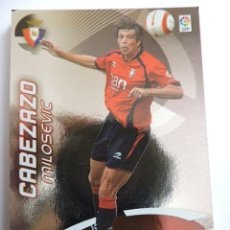 Cromos de Fútbol: 407 - MILOSEVIC - OSASUNA - MEGA MAESTROS - MGK - MEGACRACKS LIGA 2006 2007 06 07 - PANINI. Lote 54357459