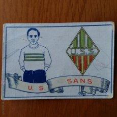 Cromos de Fútbol: CROMO FUTBOL CHOCOLATES AMATLLER 1929. U S SANS. Lote 54383353