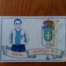 Cromos de Fútbol: CROMO FUTBOL CHOCOLATES AMATLLER 1929. REAL OVIEDO F C . Lote 54383414