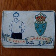 Cromos de Fútbol: CROMO FUTBOL CHOCOLATES AMATLLER 1929. C PATRIA ARAGON. Lote 54383591