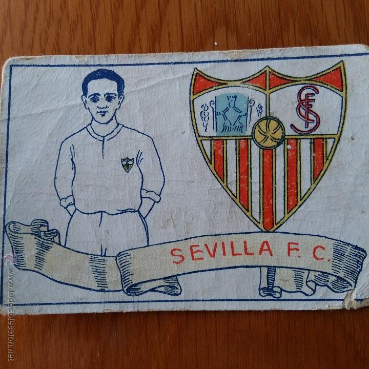 CROMO FUTBOL CHOCOLATES AMATLLER 1929. SEVILLA F C (Coleccionismo Deportivo - Álbumes y Cromos de Deportes - Cromos de Fútbol)