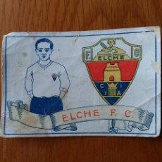 Cromos de Fútbol: CROMO FUTBOL CHOCOLATES AMATLLER 1929. ELCHE F C . Lote 54383731