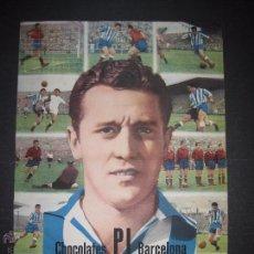 Cromos de Fútbol: REAL CLUB DEPORTIVO ESPAÑOL - CHOCOLATES PI BARCELONA - MIDE 23,5 X 33,5 CM-VER FOTOS -(V-4447). Lote 54397735
