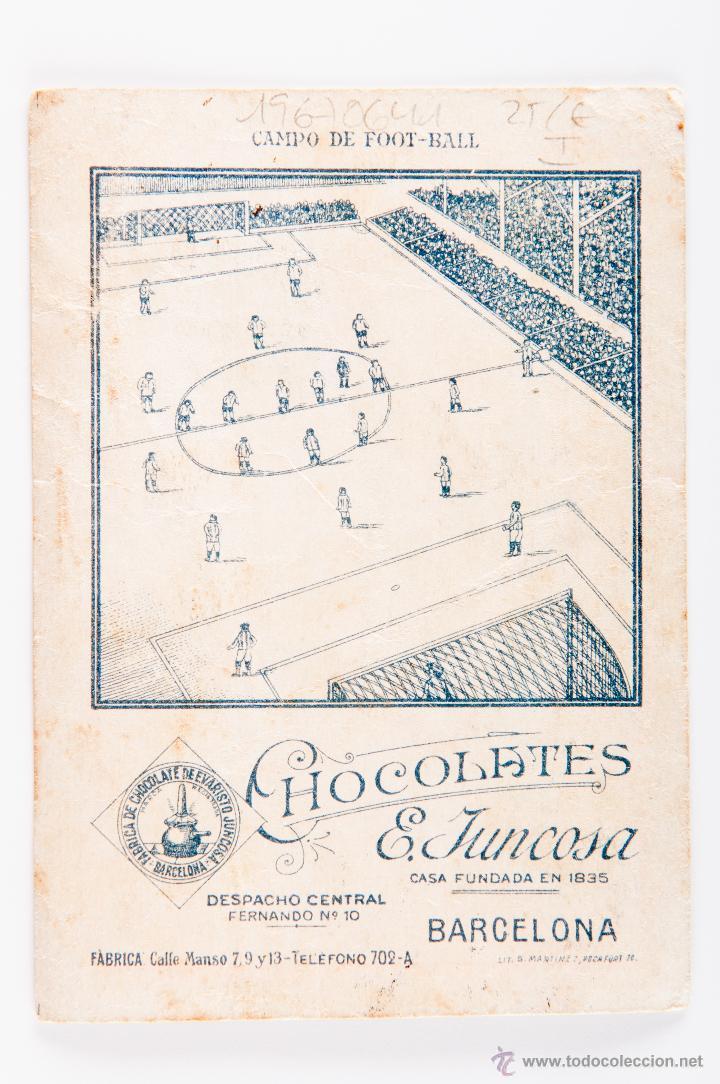 Cromos de Fútbol: CROMO FUTBOL DE MEANA, REAL SPORTING DE GIJON, PARTE TRASERA CAMPO DE FOOT-BALL - Foto 2 - 54421201