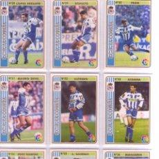 Cromos de Fútbol: FÚTBOL CROMO Nº 34 JOSE RAMÓN DEPORTIVO CORUÑA MUNDICROMO 1994 1995. Lote 56902372