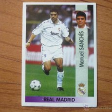 Cromos de Fútbol: PANINI LIGA 96 97 Nº 84 MANOLO SANCHIS (REAL MADRID) - SIN PEGAR - CROMO FUTBOL LFP 1996 1997. Lote 194712428