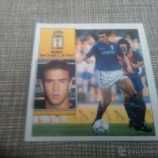 Cromos de Fútbol: EDICIONES ESTE 1992 93 (92 93 ) BAJA BANGO - REAL OVIEDO ( DESPEGADO ) . Lote 54550997