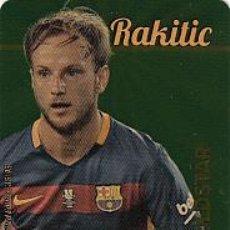 Cromos de Fútbol: #35/45 RAKITIC BARCELONA GOLDSTAR DORADO LIMITED EDITION 2015 2016 MUNDICROMO 15 16. Lote 54552935