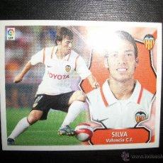 Cromos de Fútbol: SILVA DEL VALENCIA ALBUM ESTE LIGA 2008 - 2009 ( 08 - 09 ). Lote 183398196