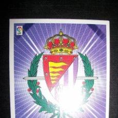 Cromos de Fútbol: ESCUDO DEL VALLADOLID ALBUM ESTE LIGA 2008 - 2009 ( 08 - 09 ). Lote 183398206