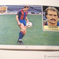 Cromos de Fútbol: CALDERÉ - FC.BARCELONA ESTE 84/85 ÚLTIMOS FICHAJES Nº27. Lote 54689157