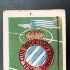 Cromos de Fútbol: CROMO FUTBOL DEL REAL CLUB DEPORTIVO ESPAÑOL. Lote 54690228