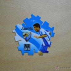 Cromos de Fútbol: TAZO / TRICK GREFUSA LIGA 2004-2005 - JUANITO (MALAGA CF). Lote 54697674