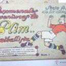 Cromos de Fútbol: PLIM FOOTBALLISTA. FUTBOL. CHOCOLATES ANGELICAL. LOTE DE 16 CROMOS. VER RELACIÓN. Lote 54761868