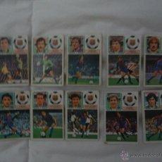 Cromos de Fútbol: LOTE 10 CROMOS DEL BARCELONA. EDICIONES ESTE. TEMPORADA 83-84. Lote 54908981