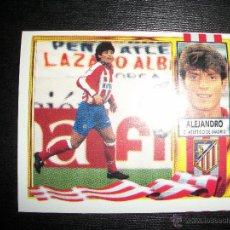 Cromos de Fútbol: ALEJANDRO BAJA DEL ATLETICO DE MADRID ALBUM ESTE LIGA 1995 - 1996 ( 95 - 96 ). Lote 228211175