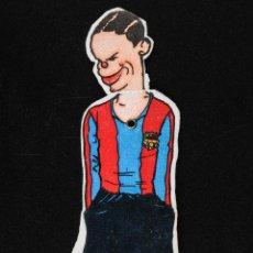 Cromos de Fútbol: CROMO FUTBOL TROQUELADO - SAMITIER F.C.BARCELONA- MOVIMIENTO DE CABEZA. Lote 54959214