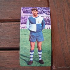 Cromos de Fútbol: CROMO RUIZ ROMERO 68-69. VIDAL Nº 163 -DOBLE- (C.E.SABADELL). DESPEGADO. Lote 54999886