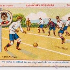 Cromos de Fútbol: CROMO FUTBOL PIERA Nº 9 - JUGADORES NOTABLES. Lote 55001597