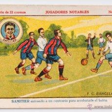 Cromos de Fútbol: CROMO FUTBOL SAMITIER Nº 15 - JUGADORES NOTABLES. Lote 55001646