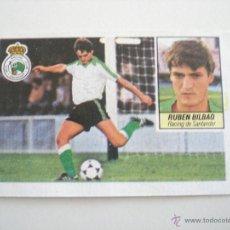 Cromos de Fútbol: RUBÉN BILBAO - RACING ESTE 84/85 MUY DIFÍCIL ÚLTIMOS FICHAJES Nº1. Lote 55067385