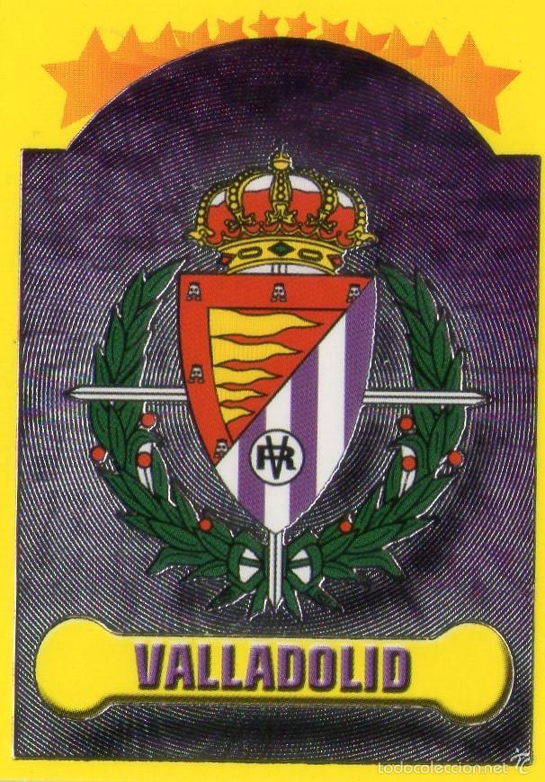 escudo del real valladolid  n 210  campeonat  Comprar Cromos
