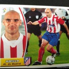 Cromos de Fútbol: MOVILLA - ATLETICO DE MADRID - EDICIONES ESTE LIGA 2003 2004 - 03 04 - SIN PEGAR. Lote 178833782