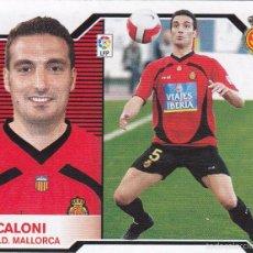 Cromos de Fútbol: ESTE 2007 2008.- SCALONI (MERCADO INVIERNO) - RCD MALLORCA. NUEVO SIN PEGAR . Lote 55201430