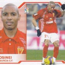 Cromos de Fútbol: ESTE 2007 2008.- ROSINEI (MERCADO INVIERNO) - R MURCIA CF. NUEVO SIN PEGAR . Lote 55202044