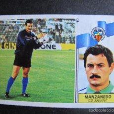 Cromos de Fútbol: CROMO MANZANEDO SABADELL ESTE LIGA 86 / 87 FUTBOL. Lote 55231490