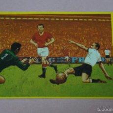 Cromos de Futebol: CROMO DE FÚTBOL:HUNGRIA-ALEMANIA,(SIN PEGAR),Nº30,AÑO 1982,DEL ALBUM,FÚTBOL EN ACCIÓN,DE DANONE. Lote 63449502