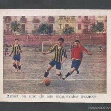 Cromos de Fútbol: FOOT BALL- UNIVERSITARI - APROXIMADAMENTE AÑOS 1915 -CROMO FOTOTIPIA -MIDE 7X 9 CM-(V-4808). Lote 55242335