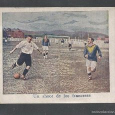 Cromos de Fútbol: FOOT BALL- FRANCIA CATALUÑA - APROXIMADAMENTE AÑOS 1915 -CROMO FOTOTIPIA -MIDE 7X 9 CM-(V-4809). Lote 55242360