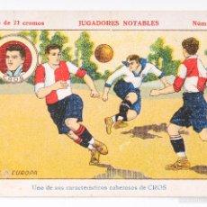 Cromos de Fútbol: CROMO FUTBOL JUGADORES NOTABLES - CROS- NUMERO 18. Lote 55374421