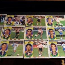 Cromos de Fútbol: ESTE 96-97 LOTE DE 15 COLOCAS EN VENTANILLA ( TAMBIEN SUELTOS A 1,00€) (C-1). Lote 55397391