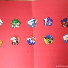Cromos de Fútbol: LOTE 10 TAZOS TRICKS (LIGA LFP 2004-05): JARQUE, VALERÓN, REINA, OWEN... GREFUSA. Lote 55449460