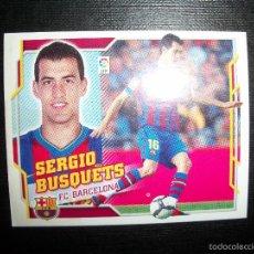 Cromos de Fútbol: SERGIO BUSQUETS DEL BARCELONA ALBUM ESTE LIGA 2010 - 2011 ( 10 - 11 ). Lote 263180030