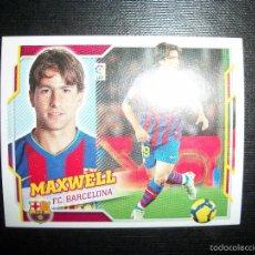 Cromos de Fútbol: MAXWELL DEL BARCELONA ALBUM ESTE LIGA 2010 - 2011 ( 10 - 11 ). Lote 263180055