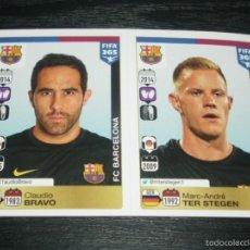 Fußball-Sticker - -PANINI FIFA 365 : 342 343 BRAVO / TER STEGEN ( BARCELONA ) - 55789974