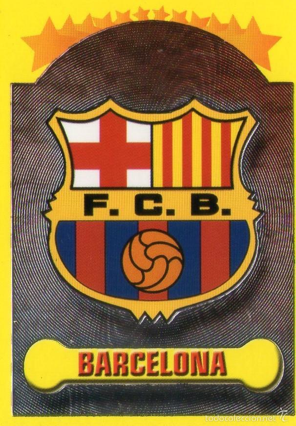 escudo del f.c. barcelona - nº 1 - campeonato d - Comprar Cromos de ... e850d0d0d2f