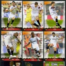 Cromos de Fútbol: 9 FICHAS DIFERENTES DE LA LIGA 2008 09 - COLECCION OFICIAL DE TRADING CARDS DE MUNDI CROMO - LOTE 6. Lote 55805021