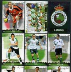 Cromos de Fútbol: 9 FICHAS DIFERENTES DE LA LIGA 2008 09 - COLECCION OFICIAL DE TRADING CARDS DE MUNDI CROMO - LOTE 7. Lote 55805084